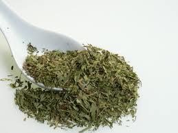 La poudre de feuilles de stevia bio riche en antioxydants naturels puissants